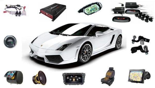 Широкий выбор автомобильных товаров, включая автоэлектронику, оборудование и аксессуары